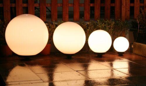 4 sfere luminose Design Set globi da giardino Illuminazione da esterno Nuovo 468
