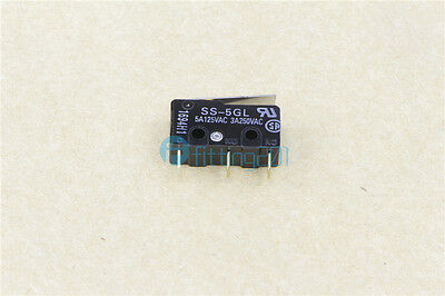 Omron SS-5GL Momentary SPDT Micro Switch 5A125VAC 3A250VAC A5