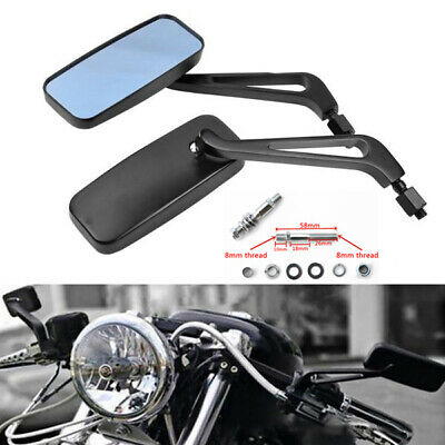 Motorcycle Hand Bone Rear View Mirrors for Harley-Davidson CVO Road Glide Ultra