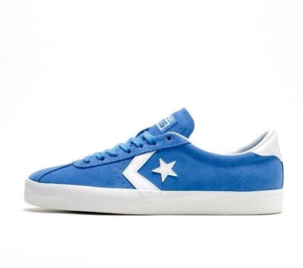 Converse Breakpoint Ox Mens Light Trainers Sapphire Blue White Suede Trainers Light 60e146