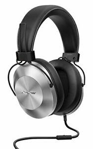 Pioneer High res Sealed dynamic stereo headphone SE-MS5T-S(Silver)