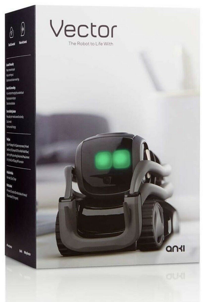 Anki Vector Robot - A Home Robot Who Hangs Out & Helps Out With Alexa, FAST SHIP