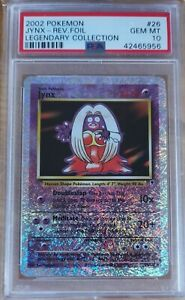Pokemon Jynx Legendary Collection Reverse Holo PSA 10 Gem Rare POP 32