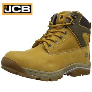4b9c89ac031 Details about JCB FAST TRACK S3 Mens Leather Safety Work Boots Waterproof  Steel Toe Cap Size