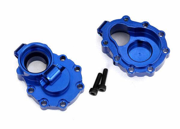 TRAXXAS 8253X Boxes portals Interior Rear Aluminium bluee