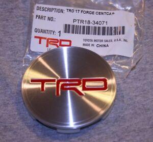 PTR18-34071 TRD Wheel Center Cap - Genuine Toyota - Tundra Rock Warrior  Sequoia