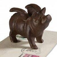 1 X Pig With Wings Paperweight