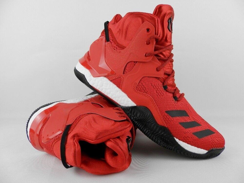 Adidas Adidas Adidas D Rosa 7 Basketballschuhe Turnschuhe Schuhe Rot Neu 7341fb