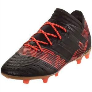 e672e0176576 Adidas Nemeziz 17.2 FG Soccer Cleats Black Core Black Solar Red ...