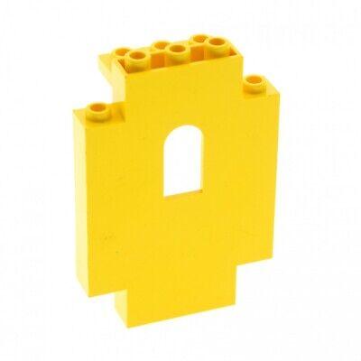 1x Lego Panel Yellow 2x5x6 Window Wall Wall Set Eldorado Fortress 6274 4444