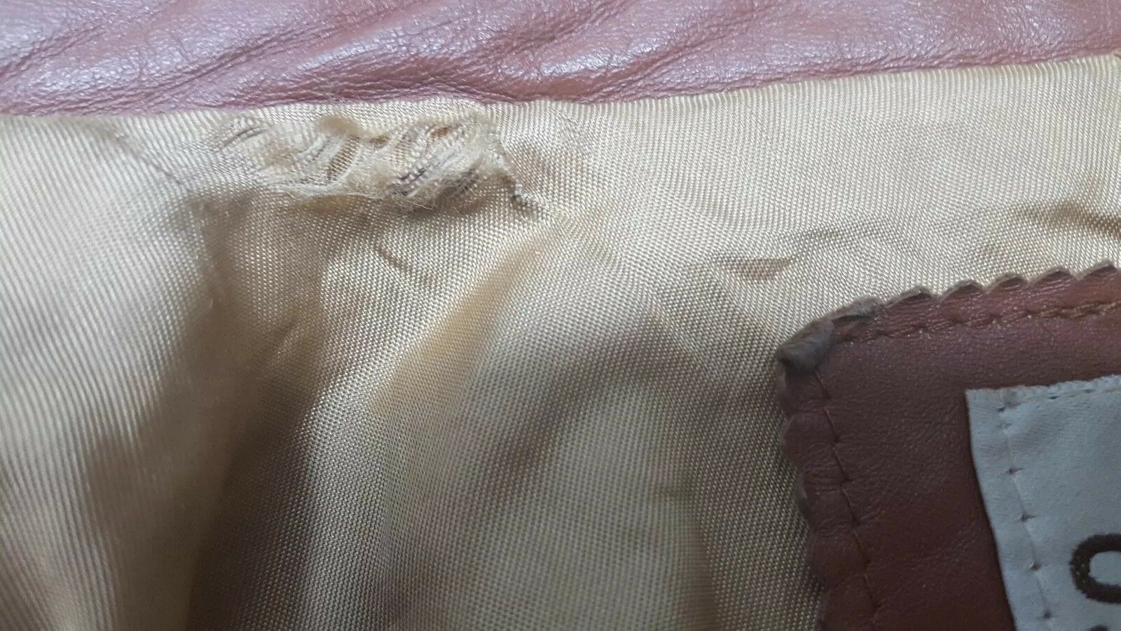 SILTON  Brown Leather 70s  Blazer Sport Coat Siz… - image 11