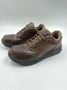 928 V2 Brown Leather Walking Shoes
