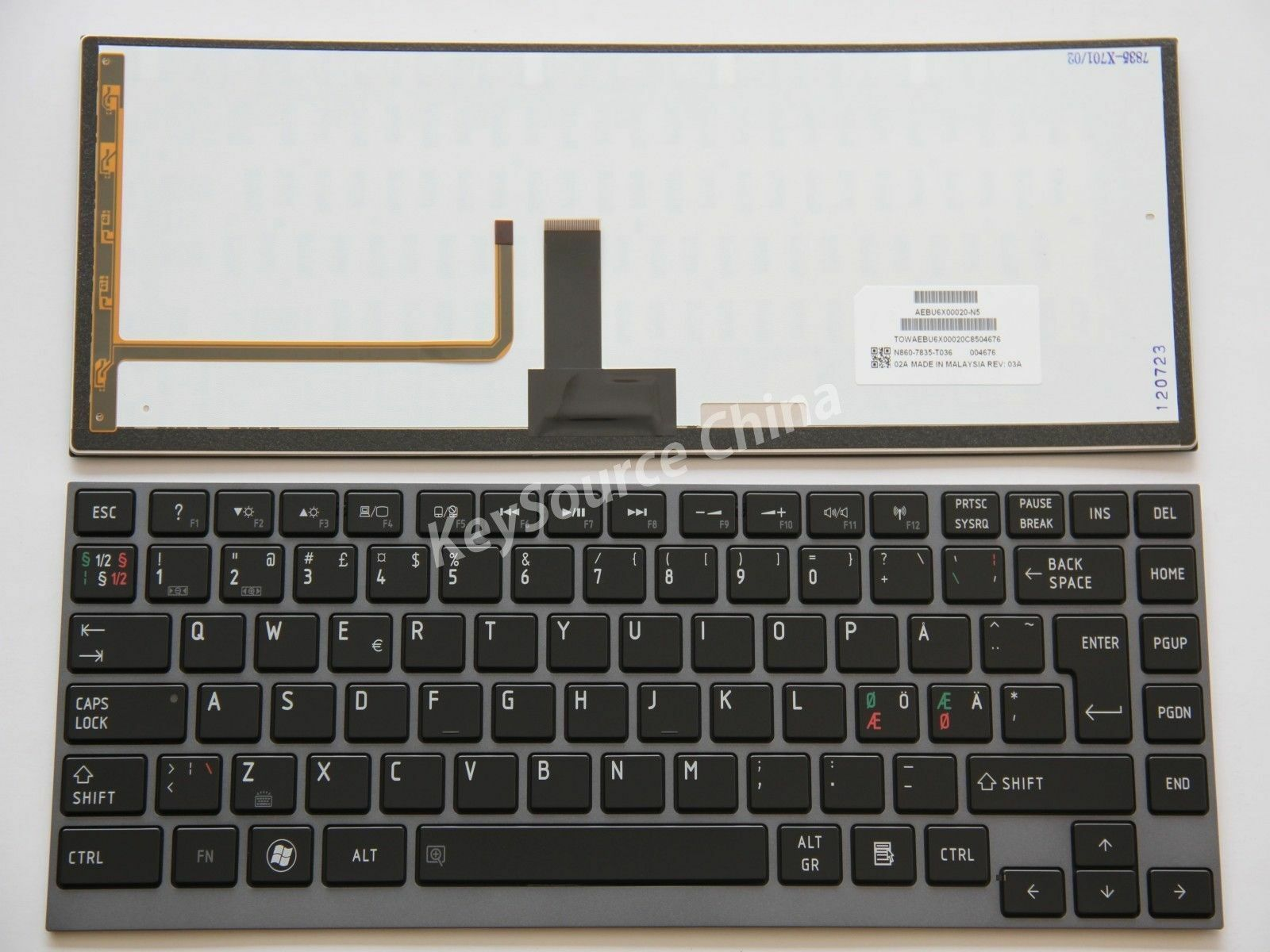 NEW Toshiba Satellite U800 U840 U845 U900 U920 U925 U940 U945 Keyboard Spanish