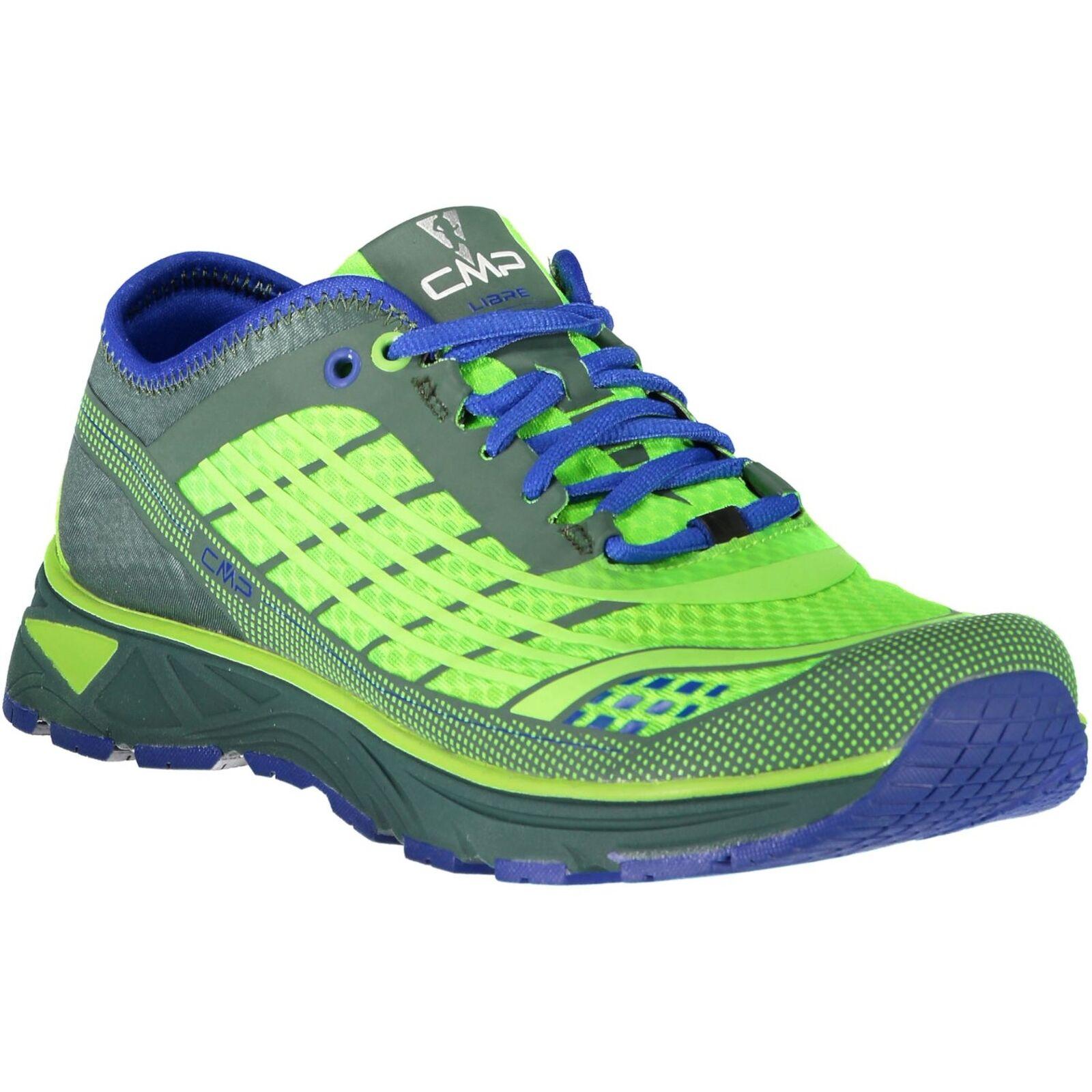 CMP Running Sports shoes Libre Running shoes Green Plain Colour Mesh
