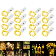 16 x 3.3ft/1m 20 LED String Copper Wire Fairy Lights Battery Operated Waterproof