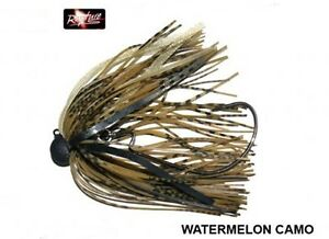 Rapture-QUICK-JIG-WATERMALON-CAMO-amo-intercambiabile-speciale-luccio-BASS-10gr
