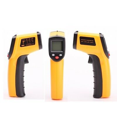 LCD Non-Contact IR Infrared Laser Point Thermometer Digital Temperature Gun