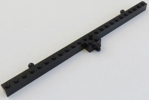 LEGO 2 Kugelköpfe schwarz # 47978 Mast 2 x 24 mit Gelenk u