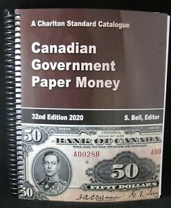 Charlton-Canadian-Government-Paper-Money-32nd-2020-Edition-FREE-SHIPPING