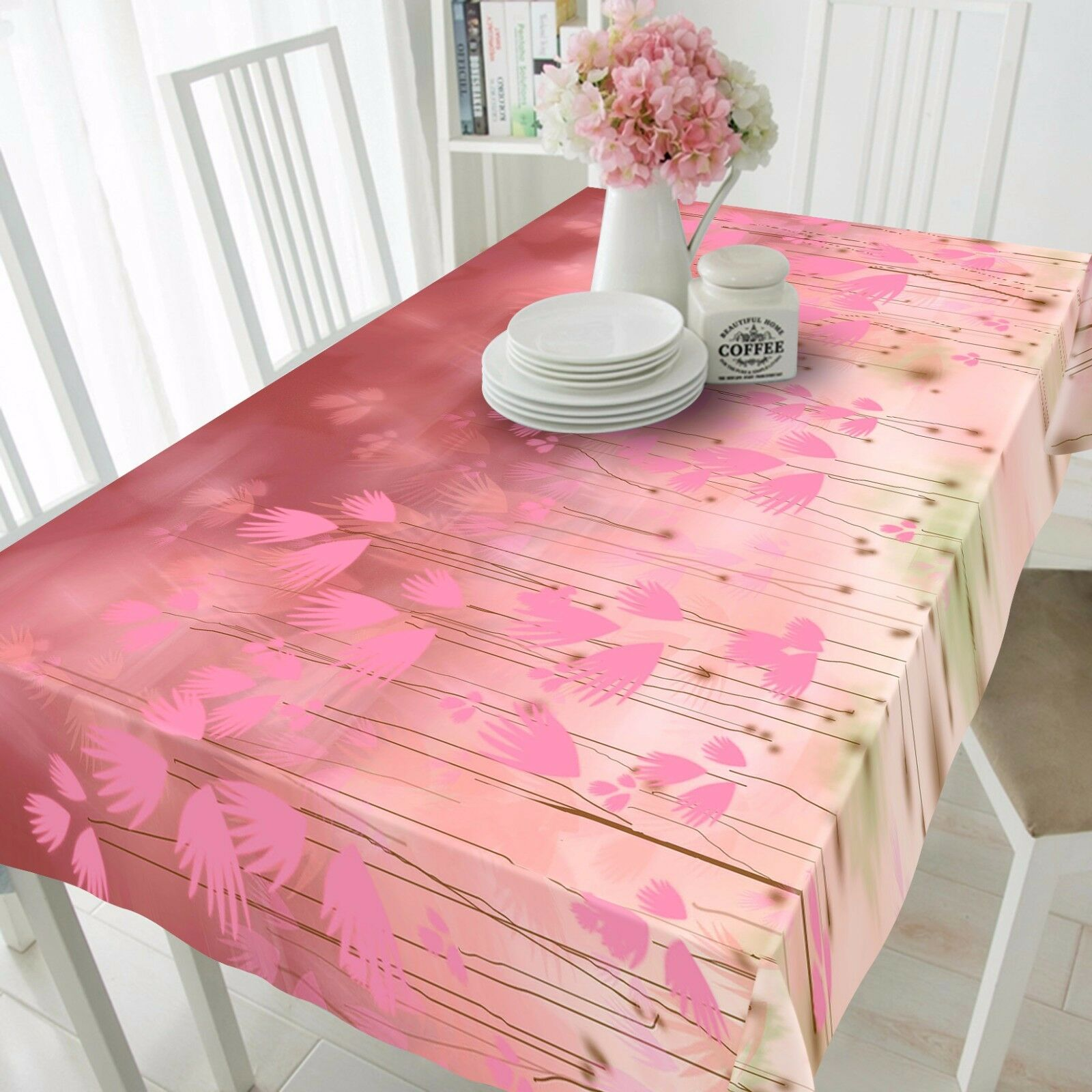 3D rose leaf80 Tablecloth Table Cover Cloth Birthday Party Event AJ WALLPAPER UK