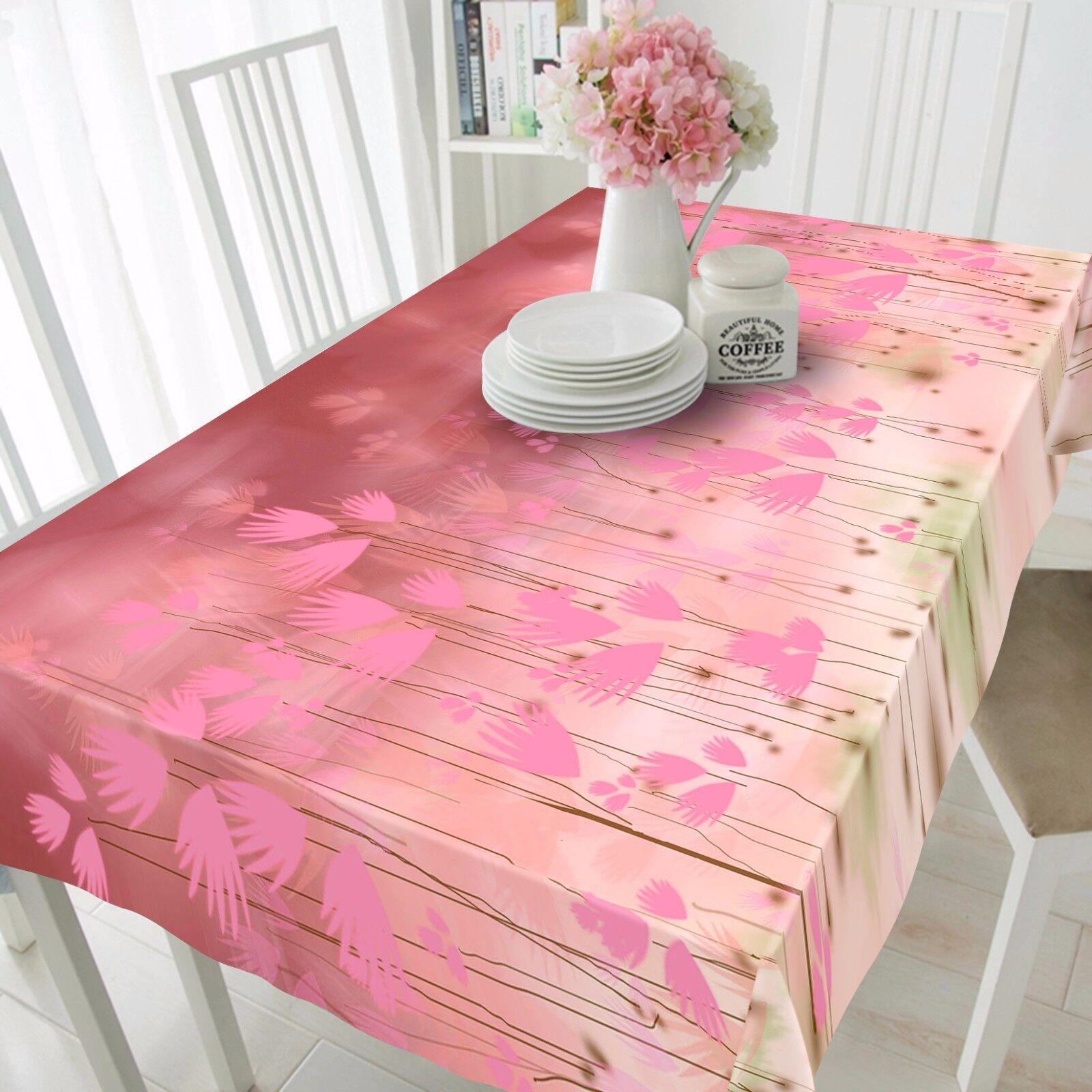 3D Feuille Rose 80 Nappe Table Cover Cloth Fête D'Anniversaire événement AJ papier peint UK
