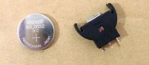 Dreamcast Porte-batterie Avec Ml2032 Rechargeable Dc-afficher Le Titre D'origine