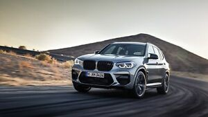 2020-BMW-X3-M-Competition-Auto-Car-Art-Silk-Wall-Poster-Print-24x36-034