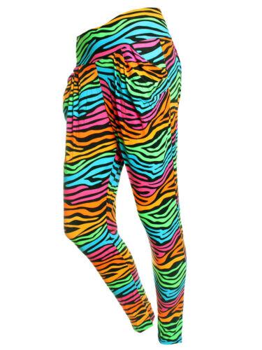elastici stile di pantaloni stampa martello forma Pantaloni elastico colorati a con ZznCaaI