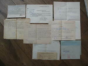 Documents-Estate-Katasteramt-Greifswald-Mecklenburg-1921-1939