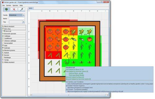 Garden Design Software CD for Windows and Mac Kitchen Garden Aid