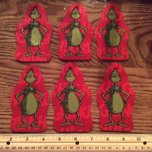 Style-7-The-Grinch-Who-Stole-Christmas-Fabric-Iron-On-Appliques-Christmas