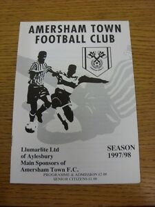 1997-1998-Amersham-Town-v-Harpenden-Town-Spartan-South-Midlands-League-Premier