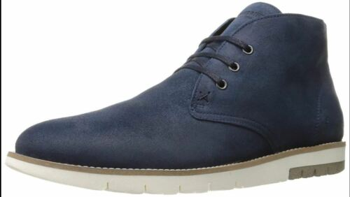 11M Navy Suede Wolverine 1883 by Men/'s Gibson Chukka Boot