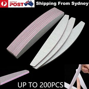 UP-200x-Double-Sided-Pedicure-Nail-Files-100-180-Grit-Manicure-Nail-Care-Sanding
