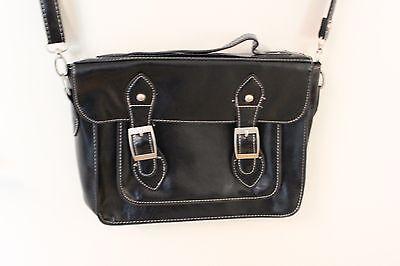 NEW YORKER Damen Tasche Handtasche scharz Kunstleder