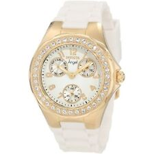 Invicta Women's 1644 Angel Jelly Fish Crystal Accented White Dial Watch