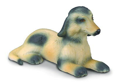 Figurine Chien Afghan Hound Collecta 88174 Statue Animal Lévrier Collection Box