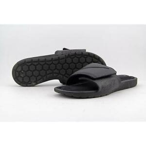 cd4af52460661b Mens Nike Solarsoft Comfort Slide 10 Black Flip Flop Sandal 705513 ...