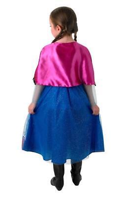 GIRLS MUSICAL AND LIGHT UP ELSA DRESS FROZEN PRINCESS CHILD FANCY DRESS COSTUME