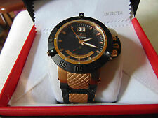 Invicta Men's Subaqua Noma III Swiss Made 18K Ion Plated Rose Gold SS Watch L@@K