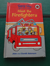 Ladybird book. Topsy + Tim - Meet the Firefighters