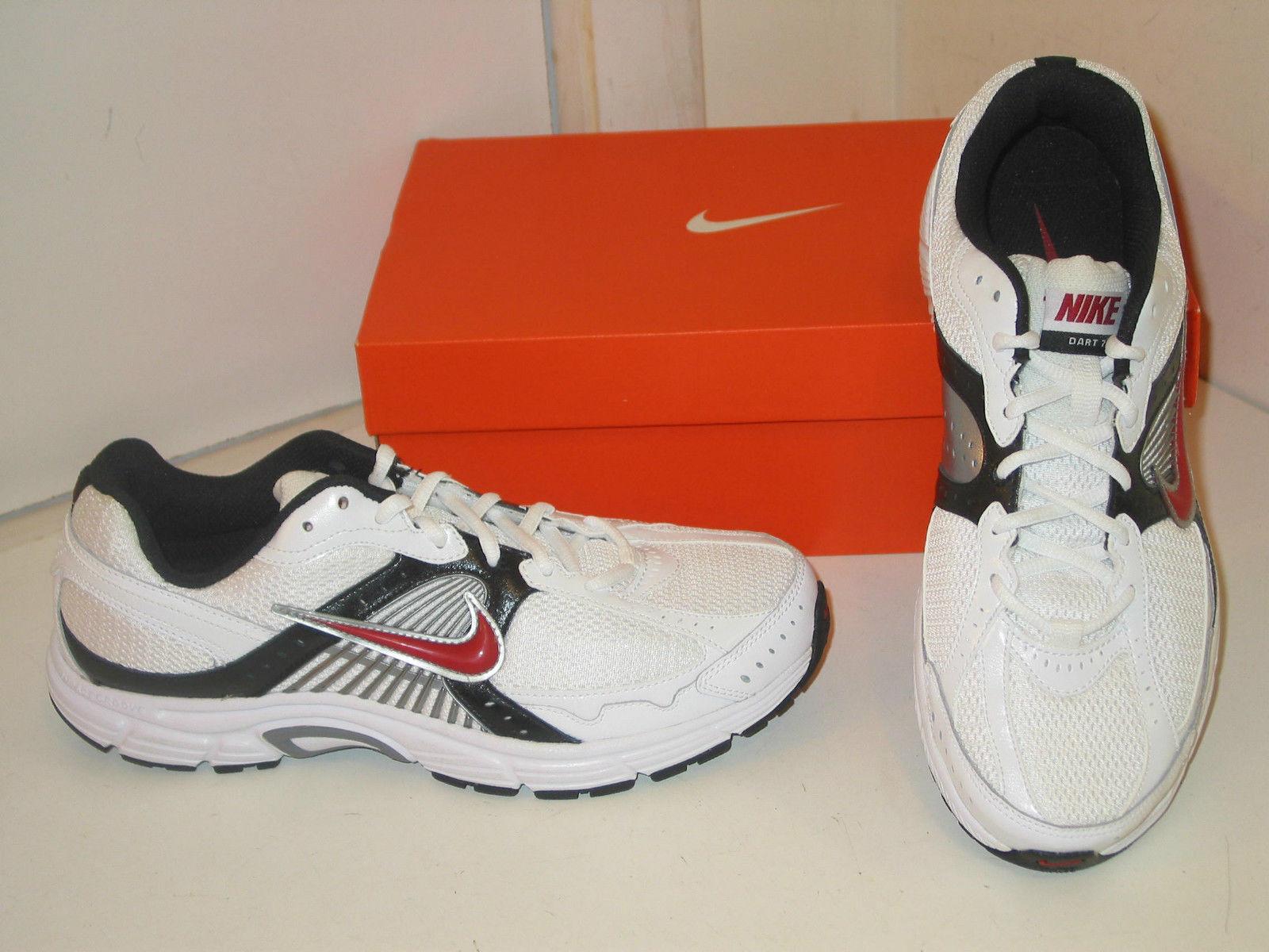 Nike dardo vii 7 azioni di di azioni formazione bianco rosso atletico scarpe scarpe Uomo 10 e17f79