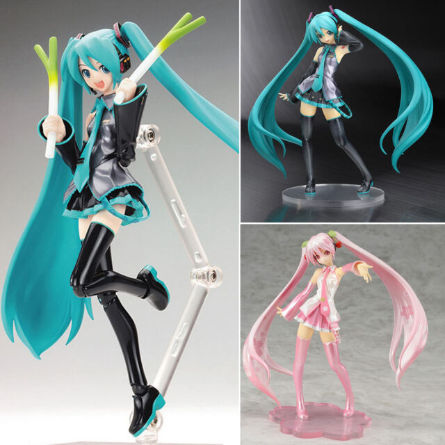 Anime Vocaloid Hatsune Miku/Sakura PVC Dolls Collection Action Figure Manga Toys