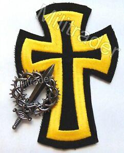 Christian-Warriors-of-God-Biker-Patch-and-Badge-Set