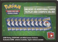 TWO 2x Pokemon Online Game Codes XY Fates Collide Set Booster Pack Unused Codes!