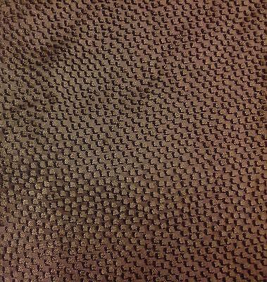 SAHCO Small Velvet Square Dots Upholstery Fabric Melampo Granite 3.55 yd 2547-05