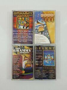 Grammy Nominees Cassette Lot of 4 Titles 1998-2001