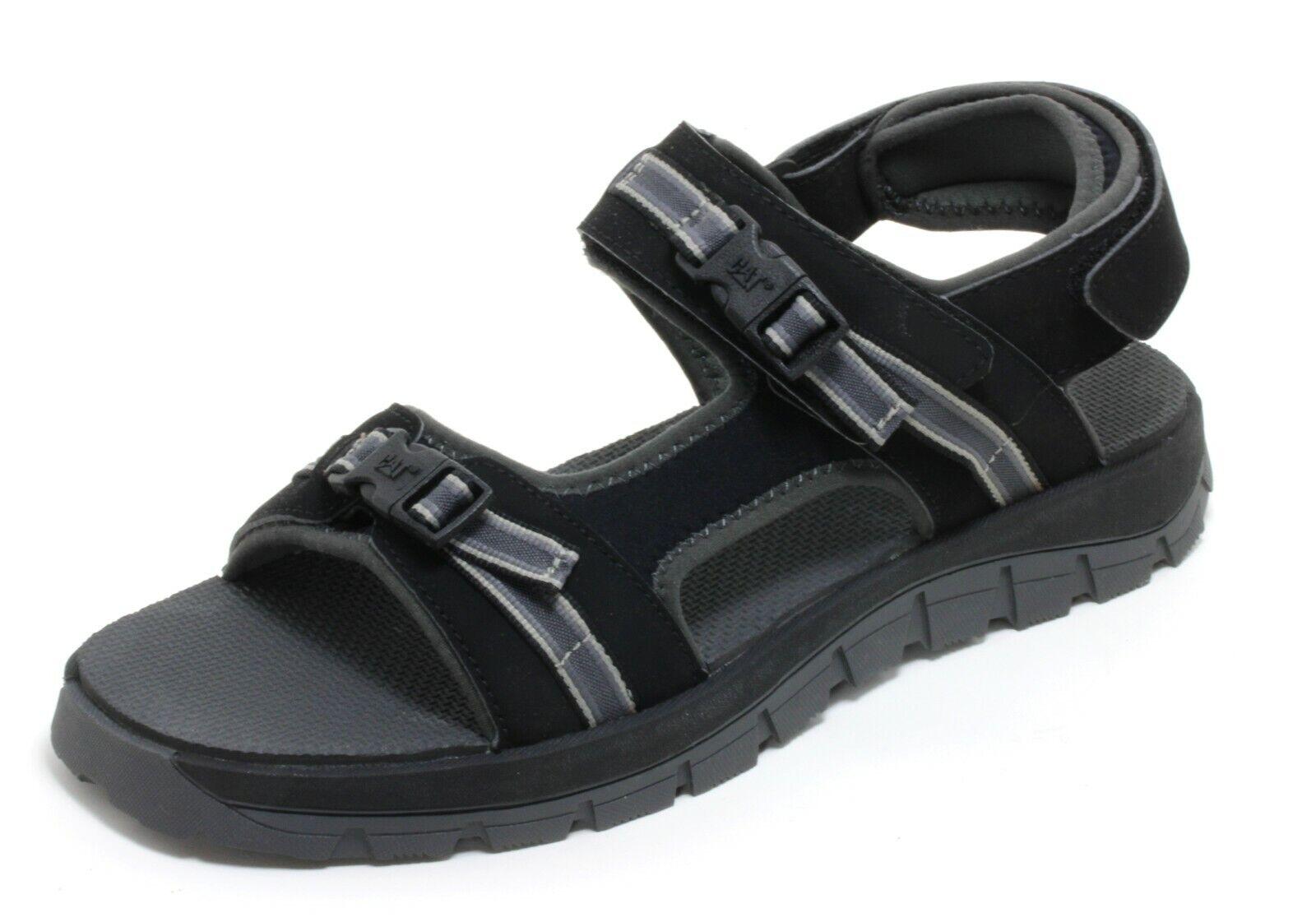738 Sandal Trekking Touch Fastener Outdoor Shoes Summer Leather Caterpillar 46