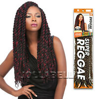 African Collection Super Reggae Braid 100% Kanekalon Extension Braiding Hair 36