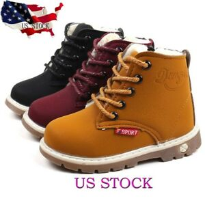 Children-Warm-Boys-Girls-Martin-Sneaker-Boots-Kids-Baby-Casual-Soft-Sole-Shoes